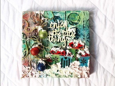 """Mixed Media Collage """"Christmas"""""""