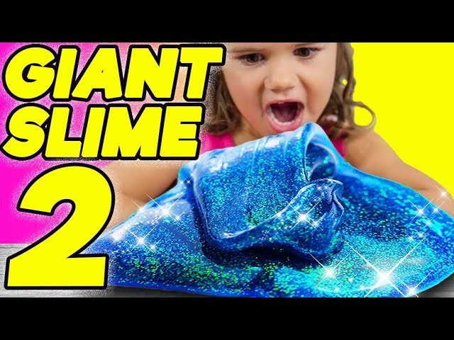 More Best Slime from Will It Slime? 100 pounds of Fluffy Glitter, Giant Balloons, No Bowl and More!