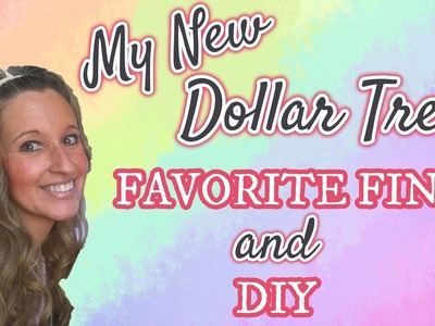 My NEW Dollar Tree FAVORITE FIND | DIY | NEW DOLLAR TREE ITEM | DOLLAR TREE DIY