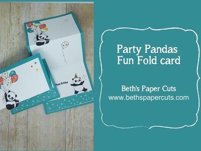 Party Panda fly away panda ~ Beth's Paper Cuts