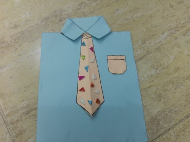 Shirt Card Easy Card Making Kids Craft