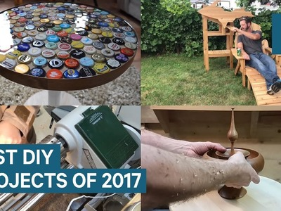 The best DIY projects we found in 2017