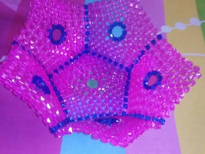 পুতির ঝুড়ি How to make beaded basket Tutorial bangla Part (1)পুতির ঝুড়ি টিউটোরিয়াল