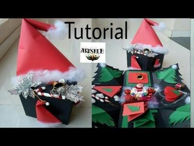 Tutorial Christmas special Explosion Box.