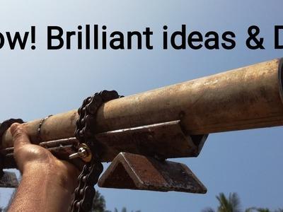 Wow! Brilliant ideas & DIY
