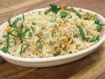 Burnt Garlic Vegetable Fried Rice | Recipes Under 15 Minutes | Chef Jaaie | Sanjeev Kapoor Khazana