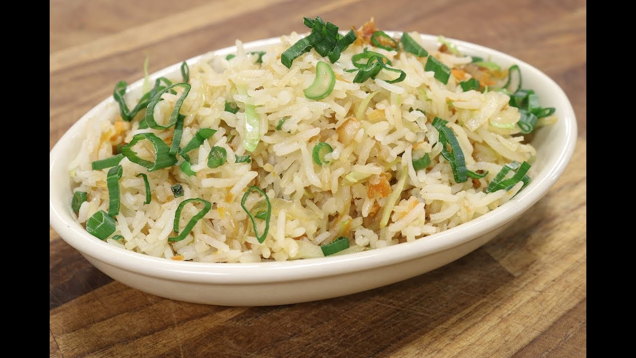 how to make egg fried rice by sanjeev kapoor