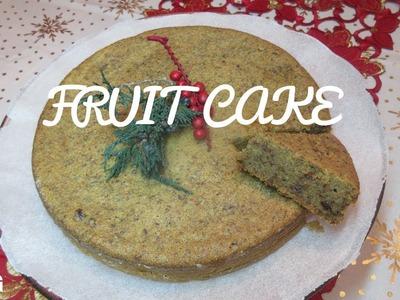 Christmas Fruit Cake, step by step Video Recipe I Real Nice Guyana (HD)