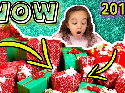 CHRISTMAS MORNING PRESENT OPENING - WHAT I GOT FOR CHRISTMAS 2017