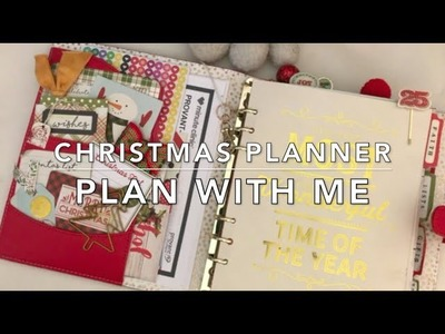 Christmas Planner - Plan with Me (12.18.17 to 12.24.17)