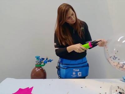 Confetti Deco Bubbles How To with Tina Giunta, CBA