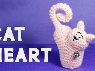 Crochet Tutorial Cat Heart (ValentinCat)