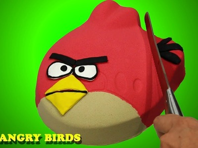 DIY How To Make Kinetic Sand Angry Birds  Learn Colors & Surprise Toys Paw Patrol Toys Diy  For Kids