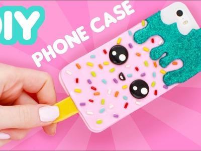 DIY Ice Cream PHONE CASE - Clay DIY!