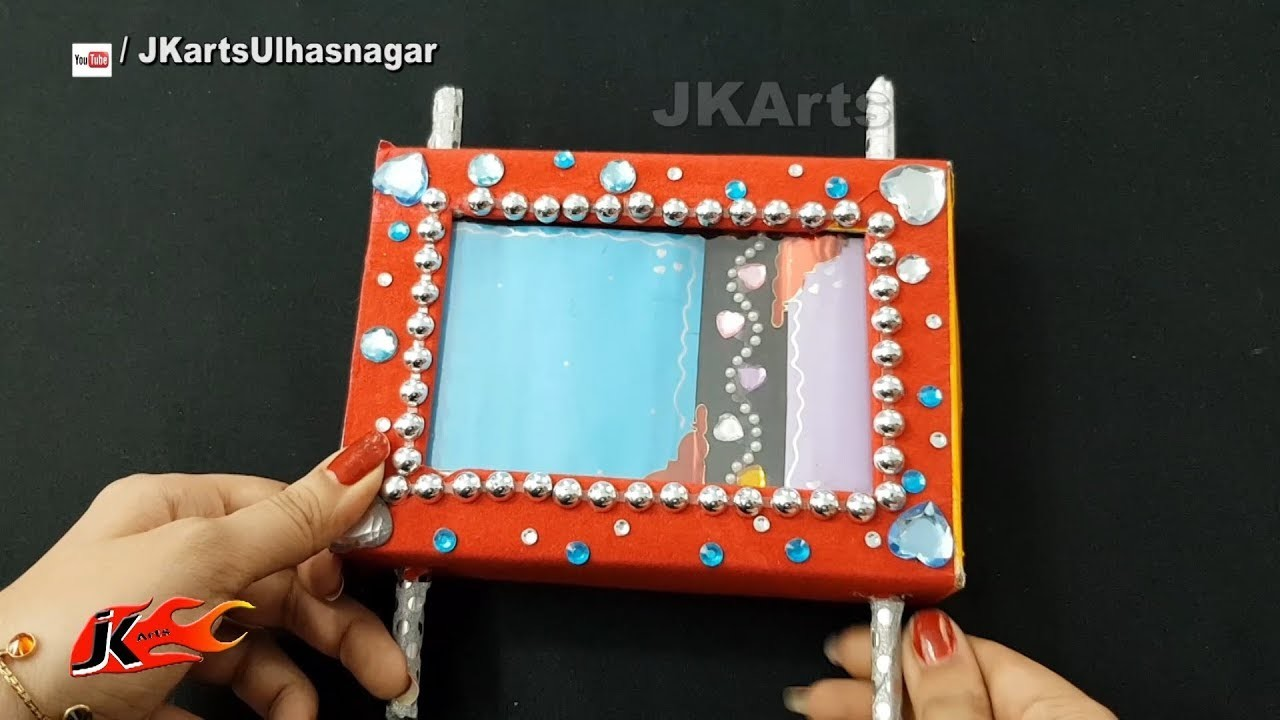 DIY Scroll Box card Scrapbook Tutorial  | Valentine's Day Gift Idea | JK Arts 1338