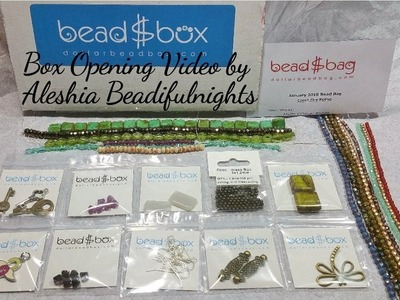Dollar Bead Box and Bag Opening January 2018