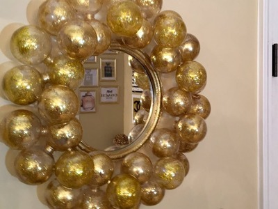Dollar Tree DIY - ????Bubble Wall Mirror????