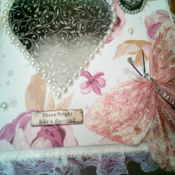 Handcrafted Shabby Decorative Box