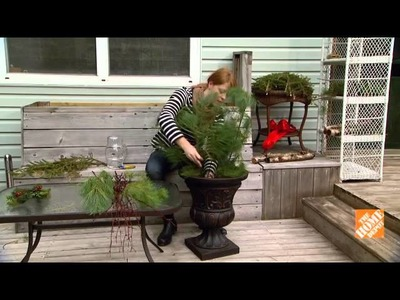 How to Create a Decorative Holiday Urn
