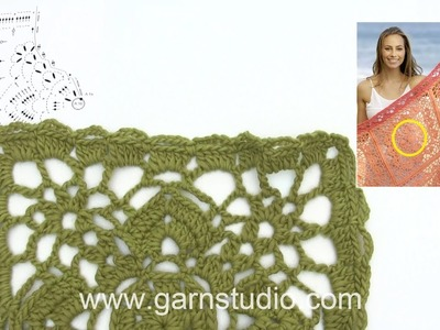 How to crochet after A.2a+b – part 1 in DROPS 175-10