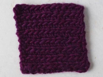 How to Crochet Ribbing