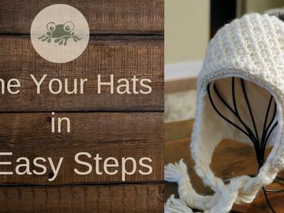 Hat Loom Knit Decreased Hat Crown Loom Knit Decreased Hat Crown