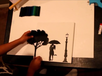 How To Make A Melted Crayon Art