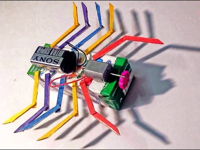 How to make a Spider Robot - TOY FOR KIDS