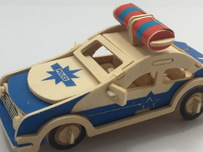 How to make a wooden POLICE WAGON?