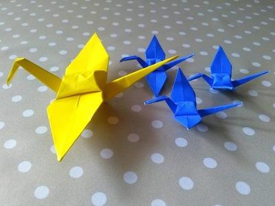 How to Make Bird Origami Tutorial | Cara Membuat Origami Burung