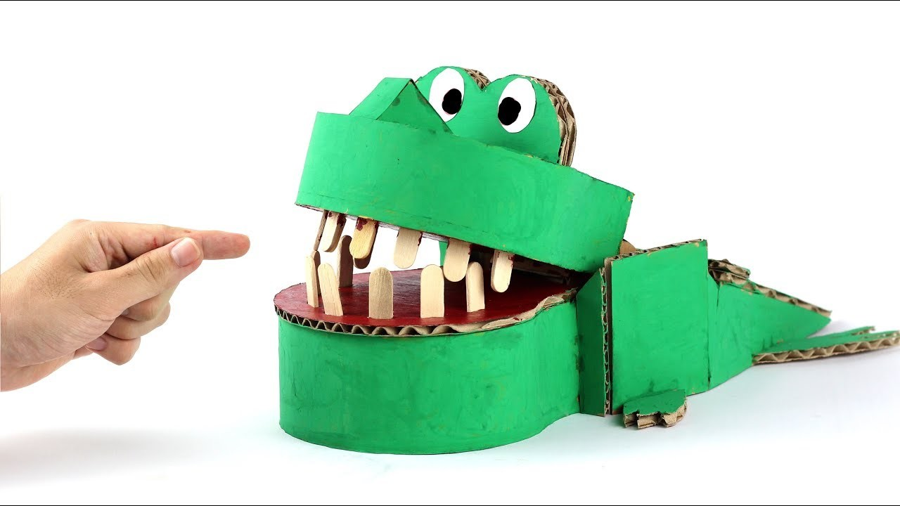 How To Make Crocodile Dentist Game For Kids Just5mins