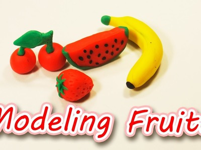 How to Make Fruits ???????? ???? ????  Modeling Clay for Kids | GiGaGa TV