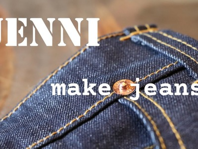 How to sew jeans  tutorial home made