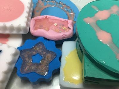 IN LIVE scopriamo le creazioni in resina !