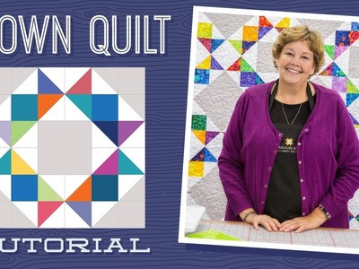 Make a Crown Quilt with Jenny!