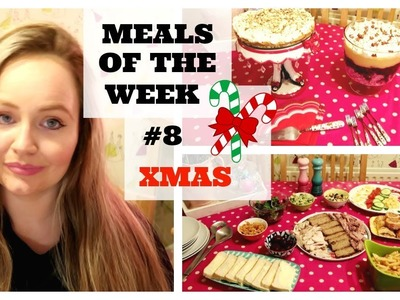 MEALS OF THE WEEK #8. CHRISTMAS COOK WITH ME. HEALTHY FAMILY MEAL IDEAS. LARGE FAMILY