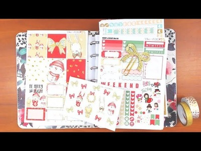 Mini Happy Planner Plan with Me January 1-7 featuring PlanwithPizazz