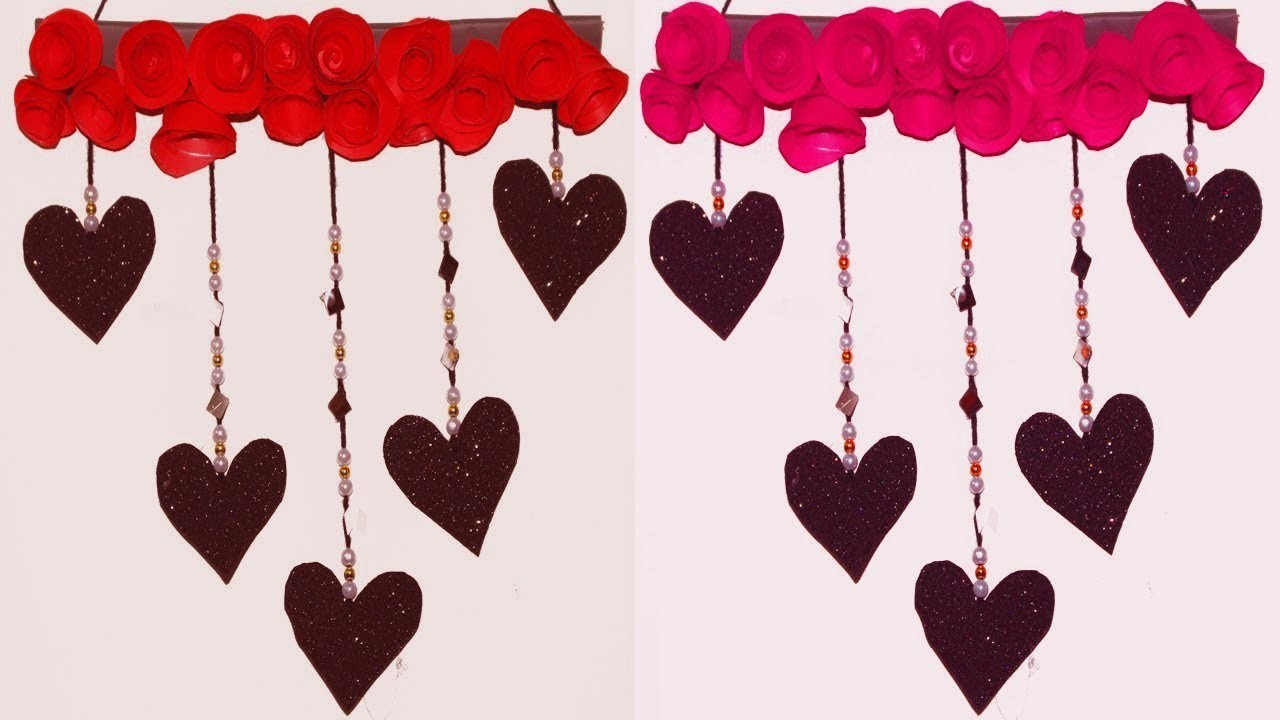 New Heart Wall Hanging Craft Ideas Large Heart Wall Hanging