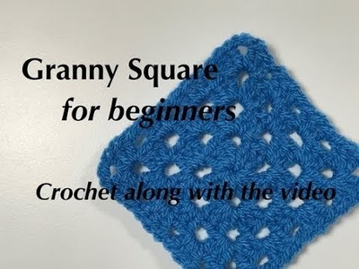 Ophelia Talks about Crochet Granny Square for Beginners