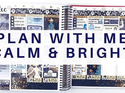 Plan With Me: Calm & Bright | Erin Condren Life Planner