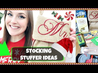 Practical STOCKING STUFFERS For GUYS | What I got my BOYFRIEND | GIVEAWAY!?!
