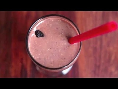 Recipe - Winter Smoothie | How To Make Christmas Party Drink | Easy-to-Make Party Beverage
