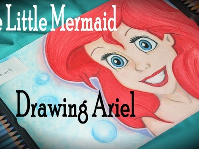 Speed Drawing: Ariel the Little Mermaid