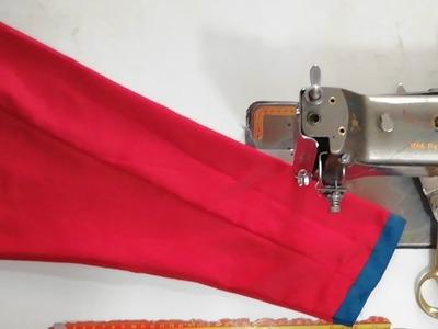बिल्कुल कम कपड़े मे full sleeves कैसे बनाए.how to make full sleeves with very short cloth