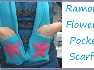 TUTORIAL!: Ramona Flowers Inspired Pocket Scarf! | Sewing Nerd!