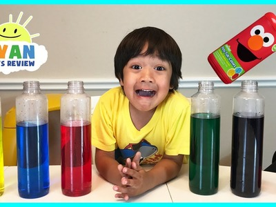 BEST LEARNING COLORS for Kids Children Toddlers Video! Sesame Street Fizzy Tub Colors Surprise Toys