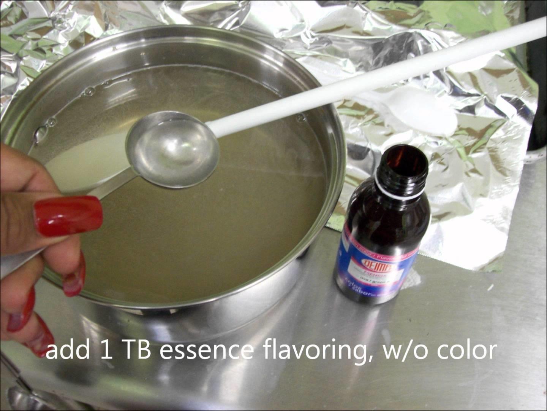 Blooming Gelatin Art, How to prepare clear water gelatin