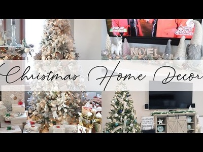 Christmas Home Decor Tour 2017 ???? Pale Rustic Glam | House to Home ???? Ep 14