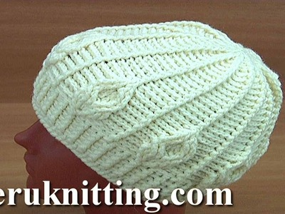 Crochet Cable Stitch Hat Tutorial 178