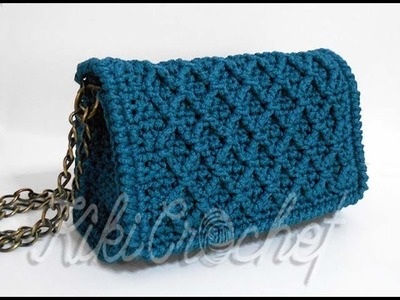 Crochet Diamond Stitch Purse (pt 1.2)